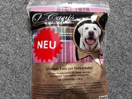 Nieuw Proefzakje O'Canis geperste brok graanvrij 100 gram