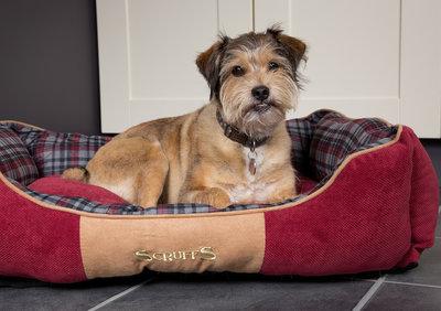 Scruffs Hondenbed Highland Rood