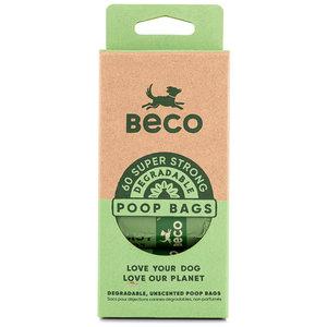 BecoBags Eco vriendelijke poepzakjes 4 rollen